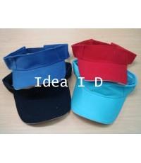 หมวกตีเทนนิส หรือ หมวกเปิดหัว ( ผ้าพรีส + แซนวิช) 013