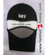 โม่งคลุมหัวเอ็มวัน M1 head support รุ่น H1 สีดำ