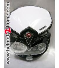 หน้ากาก KSR KLX110 รุ่น Big EYE สีดำ