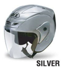 Inex helmet รุ่น titan3 สีควันบุหรี่