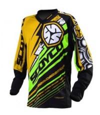 เสื้อวิบาก Scoyco 2014 T200 สีเขียว