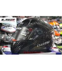 หมวกกันน็อค LS2 รุ่น FF396.1 CR1 SINGLE MONO Carbon 2014