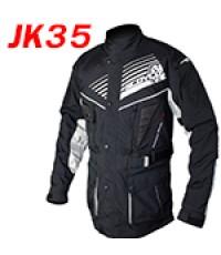 เสื้อแจ็คเก็ตแนวทัวร์ริ่ง Scoyco รุ่น JK35 สีดำเทา