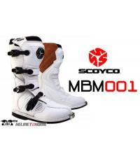 SCOYCO รองเท้าวิบาก รุ่น MBM001 สีขาว