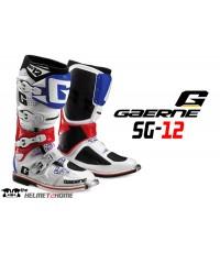 รองเท้าวิบาก GAERNE SG12 WHITE BLUE RED
