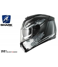 หมวกกันน็อค SHARK Speed-R DUKE 2014 Black White Anthra