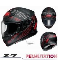SHOEI หมวกกันน็อค Z-7 PERMUTATION