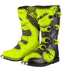 ONEAL รองเท้าวิบาก Rider (สีเหลืองนีออน)