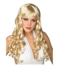พร้อมส่ง วิกผมแฟนซี วิกผมคอสเพลย์ วิกผมดัดลอน cosplay วิกผมปาร์ตี้ GLAMOUR Wig