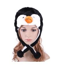 pre order หมวกแฟนซี หมวกหัวสัตว์ หมวกนกเพนกวิ้น หมวกเพนกวิน นกเพนกวิน หมวกแฟนซี หมวกสัตว์ หมวกเพนกวิ