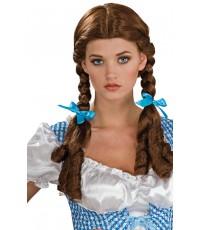 พร้อมส่ง วิกผมแฟนซี วิกผมคอสเพลย์ วิกผมเปีย วิกผมถักเปีย Dorothy Wizard of Oz Wig