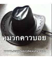 พร้อมส่ง  หมวกแฟนซี หมวกคาวบอย หมวกคาวเกิร์์ล สีเทา cowboy cowgirl hat