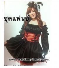 พร้อมส่ง ชุดแฟนซี  ชุดแฟนซีโจรสลัด ชุดโจรสลัด  พร้อมหมวก Pirate Wench Costume