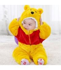 (ข อ ง ห ม ด ค่ะ)  ชุดหมีเด็ก ชุดสัตว์เด็กเล็ก ชุดนอนหมีเด็ก หนา3ชั้น ขนาดเด็กอายุ 1.5-2 ขวบ(สูง80-8