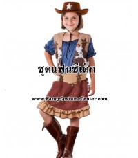 (ข อ ง ห ม ด ค่ะ) ชุดคาวเกิร์ลเด็ก ขนาดอายุ 5-7 ขวบ (ชุดตามรูปทุกชิ้นยกเว้นรองเท้า)