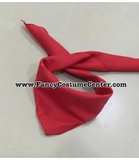 พร้อมส้ง ผ้าพันคอ คาวบอย สีแดง (ราคานี้เฉพาะซื้อพร้อมชุดแฟนซีกับทางร้านค่ะ)