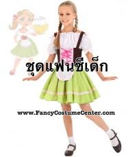 (ข อ ง ห ม ด ค่ะ) ชุดนานาชาติเด็ก ชุดเยอรมัน sizeM ขนาดเด็กสูง 110 cm