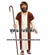 พร้อมส่ง ชุดพระเยซู ขนาดสูง 140-160 cm (ไม่รวมเครา/ไม้เท้า)