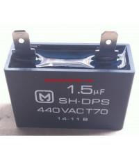 แคปพัดลม 1.5MFD 440V ชนิดเหลี่ยม PANASONIC (รันนิ่ง แคป) ใช้สำหรับมอเตอร์พัดลมทุกชนิด