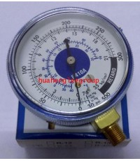 เกจ์ทางต่ำ PROEX R410a (0-500 psi) สีน้ำเงิน