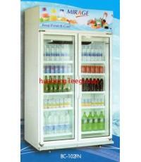 ตู้แช่เย็น 2 ประตู สีขาว ขนาด 36.5 คิว (1030ลิตร) รุ่น BC102FN \'MIRAGE\'