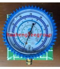 เกจ์ทางต่ำ \'QL\' (-30 - 500 psi) สีน้ำเงิน (R32/22/134a/410A)