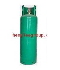 ถังน้ำยาเปล่า ขนาด 56 กิโลกรัม R22 สีเขียว แบบมีคอก