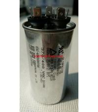 รันนิ่ง คาปาซิเตอร์ + แคปพัดลม ชนิด 3 ขั้ว (แคปรัน+แคปพัดลม) 40uF/1.5uF 450V \'EUN SUNG\'