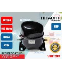 คอมเพรสเซอร์ ตู้เย็น \'HITACHI\' FH2588-SY 1/3HP R134a