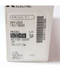 MITSUBISHI NV30-FA 2P 5A 100-200V 15MA W ราคา 1642 บาท