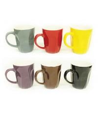 Ceramic Mug แก้วเซรามิคก้นหยัก ขนาด 6 ออนซ์