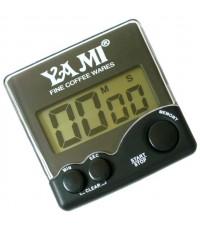 นาฬิกาจับเวลา Yami สีดำ