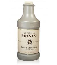 Monin White Chocolate Flavoured Sauce ขนาด 1.89 ลิตร