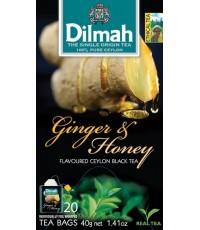 ชา Dilmah GingerHoney ชาดีลมาห์ กลิ่นขิงผสมน้ำผึ้ง