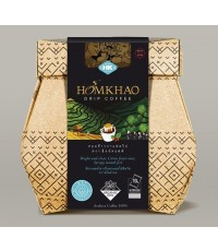 ออแกนิคหอมข้าวกาแฟดริป Homkhao Drip Cofffee - Wet Process (80 กรัม)