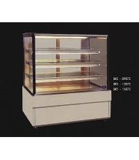 ตู้แช่เค้กกระจกเหลี่ยม หน้ากว้าง 90 ซม. 3 ชั้นวาง รุ่น SKS-0907Z