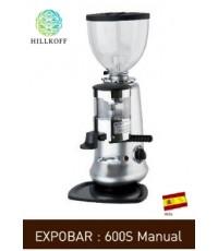 เครื่องบดกาแฟ EXPOBAR 600S Manual