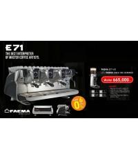 ชุดเครื่องชงกาแฟ FAEMA E71 A3 + เครื่องบดกาแฟ FAEMA ENEA Ondemand