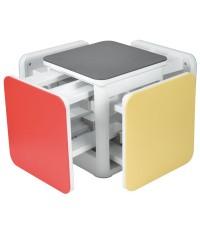 เก้าอี้ สตูล 5 IN 1 สีพื้น 026-14402