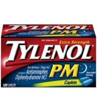 Tylenol PM ยาแก้ปวดไทลินอนสำหรับกลางคืน จากUSA