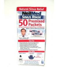 NeilMed Sinus Rinse, Natural Sinus Relief น้ำเกลือล้างจมูก +ขวด ขนาด 50 ซอง