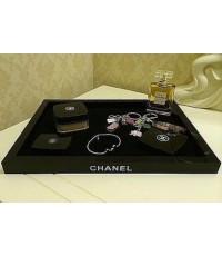 Chanel Black Tray ถาดอะคลิลิคสีดำสำหรับวางของ
