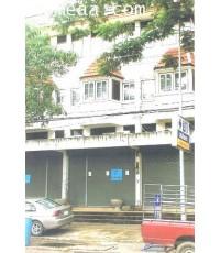 อาคารพาณิชย์ 3 ชั้นครึ่ง อ.เมือง จ.ระยอง เนื้อที่ 16.40 ตร.วา อยู่ติดถนนใหญ่ กลางเมือง