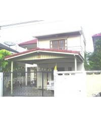 บ้านเดี่ยว 2 ชั้น หมู่บ้านเอื้อพัฒนา ซ.หนามแดง สมุทรปราการ เนื้อที่ 50 ตร.วา