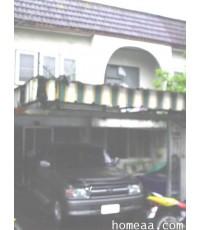 ทาวน์เฮ้าส์ 2 ชั้น   หมู่บ้านอินโดไทย ซ.รัตนาธิเบศร์ 16  เนื้อที่ 31 ตร.วา พร้อมอยู่