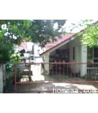 บ้านเดี่ยว 1 ชั้น หมู่บ้านประภาวรรณโฮม   มีนบุรี  เนื้อที่ 50 ตร.วา