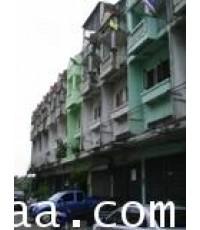 อาคารพาณิชย์ 3.5 ชั้น หมู่บ้านศรีเพชร (เพชรเกษม 106) ต.หนองค้างพลู อ.หนองแขม เนื้อที่ 20 ตร.วา