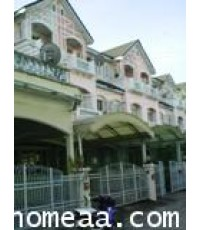 ทาวน์เฮ้าส์ 3 ชั้น หมู้บ้านพาร์คแกลลอรี่ ซ.ชินเขต เนื้อที่ 22.93 ตร.วา ต่อเติมพร้อมอยู่