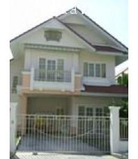 บ้านเดี่ยว 2 ชั้น หมู่บ้านพาร์คเวย์ชาเล่ต์ ซ.รามคำแหง 190/1  เนื้อที่ 53.3 ตร.วา พร้อมอยู่