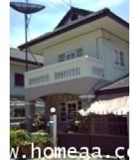 บ้านแฝด 2 ชั้น หมู่บ้านปากเกร็ดวิลเลจ ซ.11 ถ.ติวานนท์-ปากเกร็ด20 เนื้อที่ 35 ตร.วา พร้อมอยู่